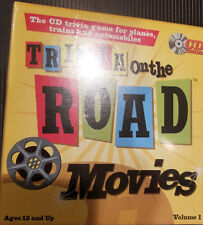 Trivia on the Road Movie Trivia CD Travel Games  for the Car Plane Boat