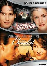 Johnny Depp Double Feature (Chocolat / Finding Neverland) DVD New - Free Ship