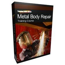 Metal Body Car Repair Mechanic Training Course Book CD