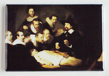 Anatomy Lesson of Dr. Nicolaes Tulp FRIDGE MAGNET rembrandt painting