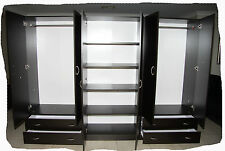 Budget 2400mm 3 Piece Wardrobe - Hanging+Shelves - Walnut or Beech - BRAND NEW