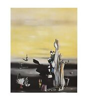 Yves Tanguy Poster Kunstdruck Bild Dame a l Absence 90x70 cm Kostenloser Versand