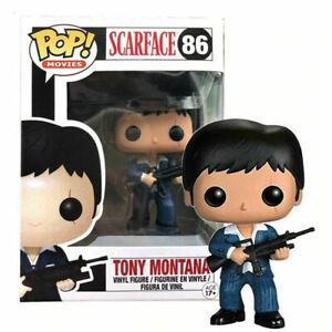 Funko Pop!Movies Scarface 86# Tony Montana Vinyl Action Figures Model Toys Gifts