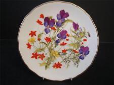 ROYAL ALBERT BRITAINS WILD FLOWERS GRASSLAND PANSIES PLATE