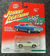 Johnny Lightning Super 70s 77 Off White Olds Cutlass Supreme Oldsmobile Die Cast
