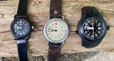 Vintage Swiss Army Watch Lot - Marlboro Calvary 1994, Dive Watch, Ladies Watch.