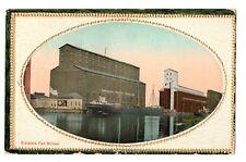 Canadian Pacific Elevators FORT WILLIAM Ontario Canada 1912 Valentine Postcard