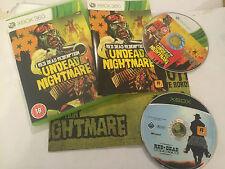 2 jeux XBOX Original Xbox red dead revolver + 360 Redemption morts-vivants cauchemar