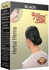 Best MOON STAR Herbal Henna Black Hair Colour (6 Pack of 10 Gms Each)