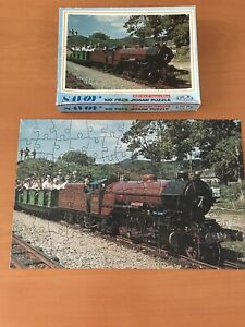 Vintage Miniature Railway jigsaw puzzle by Philmar 60s/70s 100 Pieces Complete