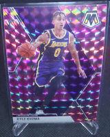 2019-20 Panini Mosaic Basketball Kyle Kuzma Pink Camo Card #28 LAKERS