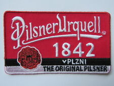 Cool Beer Fabric Patch ~ PILSNER URQUELL Brewery ~ Czech Republic ~ The Original