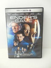 Ender's Game Sci-Fi Movie Dvd Harrison Ford Asa Butterfield Ben Kingsley Breslin