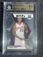 Lebron James 2019-20 Panini Mosaic MVP #298 Base Insert LA Lakers BGS 9.5