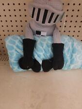 Pillowfort Knight In Armor Throw Buddy Plush & Blanket Set - Knit & Fleece - NEW