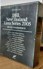 Box Set British Lions 2005 Tour Of New Zealand Rugby Union Programmes