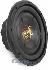 "Boss D10F 10"" Single 4 ohm Shallow-Mount Diablo Series Car Subwoofer"