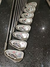 Ping i15 IRONS 3-PW blue dot (1 degrees upright)  STIFF SHAFTS