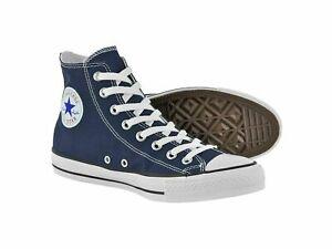 Converse Chuck Taylor All Star High Top Canvas Shoe Sneakers Blue Black Original