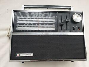 Vintage 1970's BUSH VTR-178 Multi-Band Radio Black Vinyl Transistor