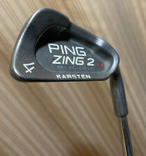 New listing Ping Zing 2 Red Dot RH 4 Iron Regular Flex Stainless Steel Shaft New Lamkin Grip