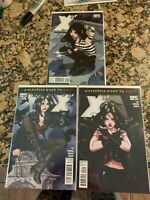 X-23 #1 1st Solo Issue HTF, Issue 2 @ 3 - Wolverine Goes To Hell