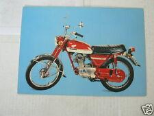 HONDA CB125 MOTORCYCLE MOTORRAD VINTAGE ORIGINAL POSTCARD