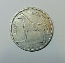 IRELAND: IRISH SILVER  HALF CROWN  1930. KM 8.  FREE SHIPPING