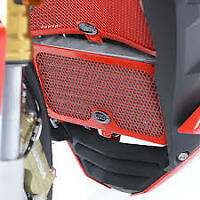 R&G Racing Oil Cooler Guard for the Ducati Monster 1100 Evo All Years OCG0014RE