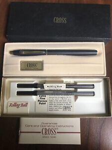 Vintage Cross 2505 Selectip Rolling Ball Pen U.S. Steel