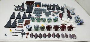 Mega Bloks Dragon Krystal Wars Lot Knights, Ogres, Parts, Pieces, Replacements