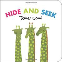 HIDE AND SEEK di GOMI, TARO LIBRO SU CARTONCINO LIBRO 9781452108407 NUOVO