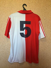 RARE Feyenoord Holland MATCH WORN FOOTBALL SHIRT JERSEY MAGLIA ADIDAS #5