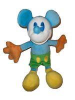 "Mickey Mouse Plush Walt Disneyland, Disney World Blue, Green, 10"" Toy Stuffed"