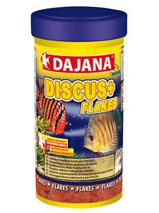Dajana Discus Plus Supplement Fish Food Flakes For Discus 3.4 Fl Oz 100ml/20g