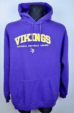 MINNESOTA VIKINGS Men's XL Hoodie American Football NFL Jumper Shirt Top Jersey