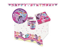SET 82 PZ COORDINATO KIT 13 COMPLEANNO BAMBINA MY LITTLE PONY GHIRLANDA PARTY