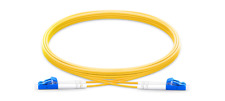 2m (7ft) LC UPC to LC UPC Duplex 2.0mm 9/125 Single Mode Fiber Patch Cable