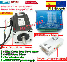 8N.m NEMA34 2 phase servo closed loop stepper motor driver 8nm kit+power 70v【ES】