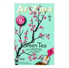 Arizona Drink Mix, Green Tea With Ginseng And Honey .7 Oz 10 Sticks, 1 Box