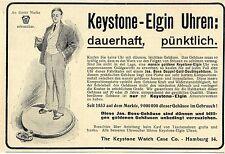 The Keystone Watch Case Co. Hamburg/USA Keystone-Elgin Taschen-Uhren Annonce1906
