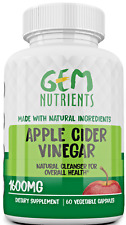 Apple Cider Vinegar Capsules Extra Strength Natural Weight Loss - Keto diet