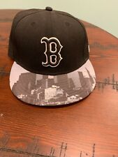 boston red sox fitted hat 7 1/8