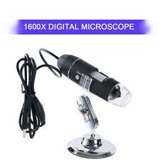 1600x Hd Digital Microscope Usb Digital Microscope Magnification With Stand