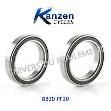 BB30 Bb30 ROULEMENT A BILLES 30X42X7 6806 2RS (2pcs) CYCLISME pour PEDALIER BB30