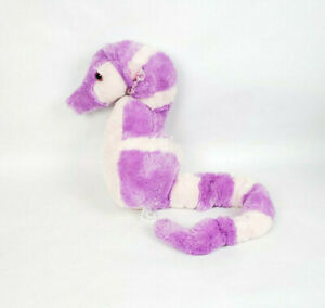 "Fiesta 19"" Lavender Seahorse Plush Stuffed Classroom Marine Ocean Sea Purple"