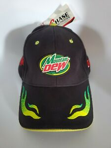 NWT 2004 Mountain Dew Jeremy Mayfield #19 Chase Authentics Hat NASCAR DODGE
