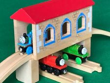 RAISED TUNNEL with TRACKS for THOMAS & FRIENDS WOODEN RAILWAY train TOY sets