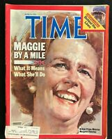 TIME Magazine June 20 1983 - MARGARET THATCHER / Strategic Arms Reduction Treaty