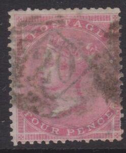 GB QV SG65 4d rose fine used cat. value £525